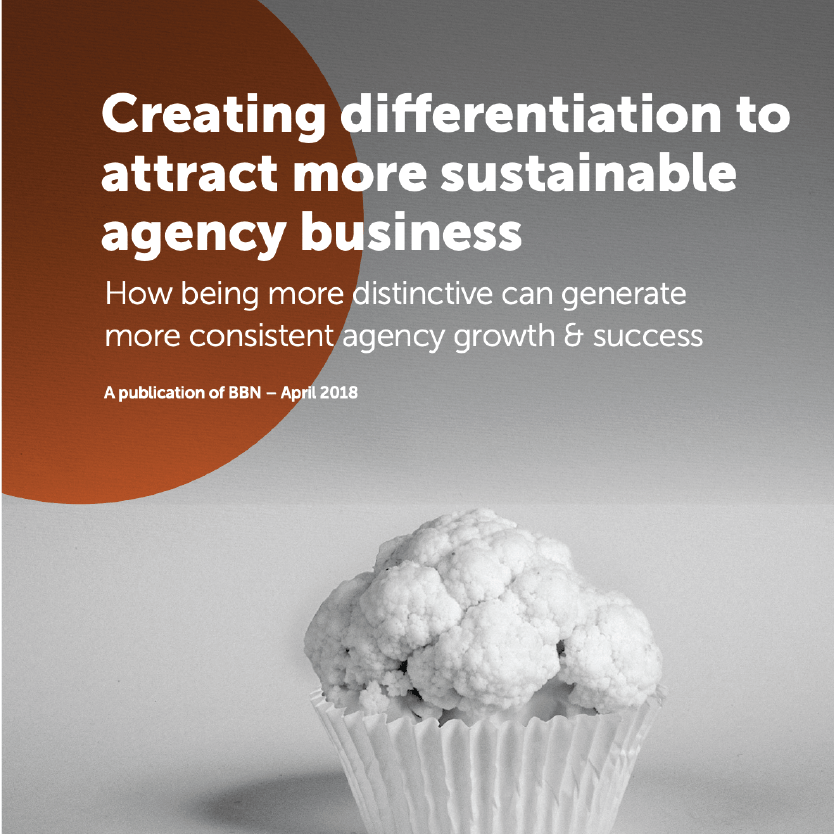 Creating differentiation to attract more sustainable agency business