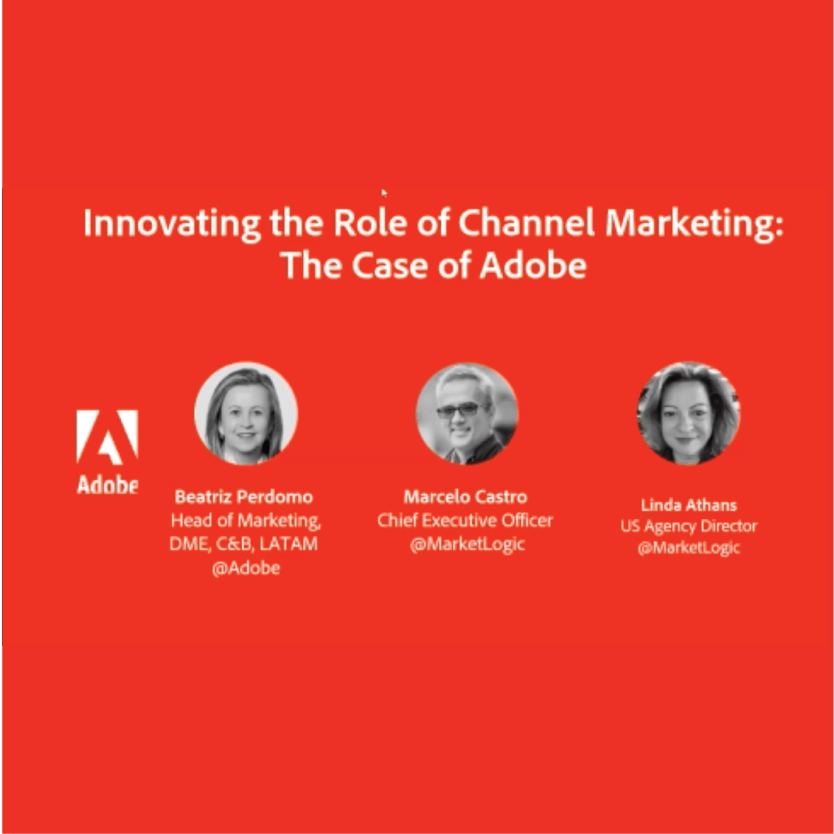 ideas meet results- Generate, accelerate, and sustain demand through your channels: 6 recommendations from Adobe
